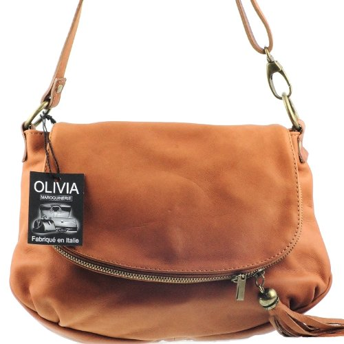 mujer de OLIVIA marron 1128 asas para Bolso 4RxBnwxqHP