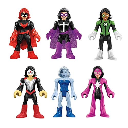 Imaginext Legends of Batman Super Heroes & Super Villians - All Female Set ()