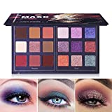 Best UCANBE Glitter Eyeshadows - Pro 18 Colors Fashion Eyeshadow Palette Makeup Highly Review