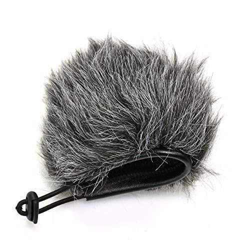 Bestshoot Deadcat Wind Shield, Microphone Furry Windscreen Muff Pop Filter Cover for Zoom H1N & H1 Handy Portable Recorder, Outdoor Videography Vlog Film, GoPro Hero Sports Camera, iPhone 8 Plus 7plus