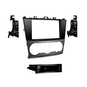 Metra 99-8907HG Single DIN Dash Kit for Select 2015- Subaru Impreza and Crosstrek Vehicles (Black)