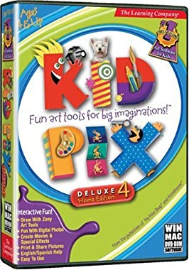 Learning Company Kid Pix Deluxe 4 one