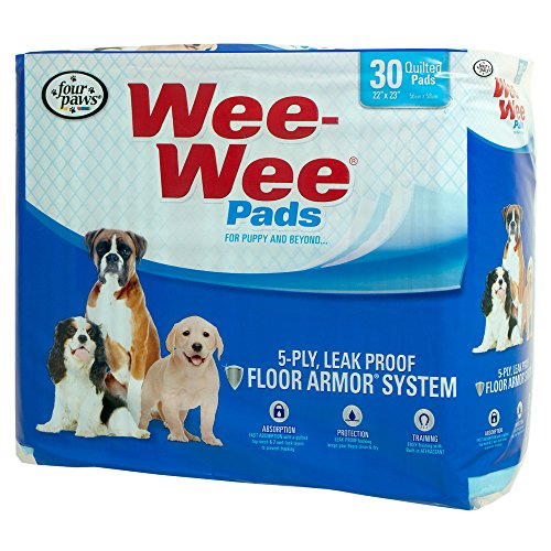 Four Paws Wee-Wee Pet Training and Puppy (Training Pad Package)