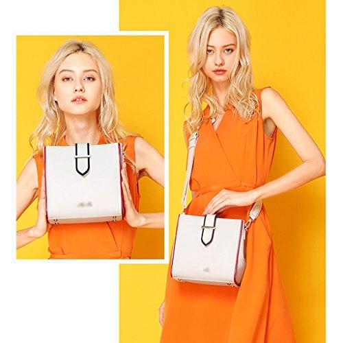 Leather Ms Shoulder Bag JIUTE Shoulder Ms Messenger PU Messenger Bag nrIIBYzqO