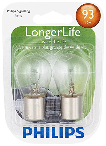Philips 93 LongerLife Miniature Bulb, 2 Pack ()