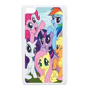 Unique Design -ZE-MIN PHONE CASE FOR IPod Touch 4th -My Little Pony Design Pattern 4
