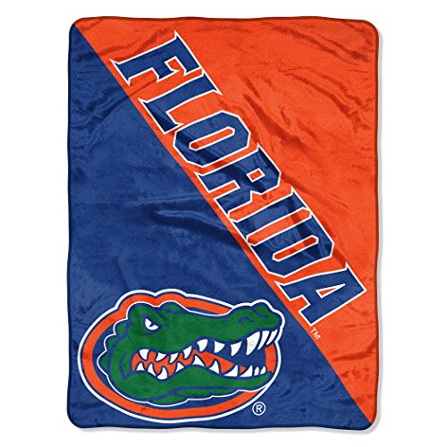 - The Northwest Company Officially Licensed NCAA Florida Gators Halftone Micro Raschel Throw Blanket, 46