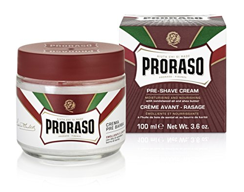 Proraso Pre-Shave Cream, Moisturizing and Nourishing, 3.6 oz