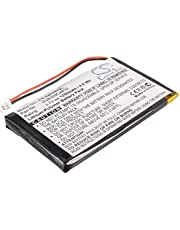 VINTRONS Replacement Battery for Garmin Nuvi 310T, Nuvi 350, Nuvi 350T, Nuvi 360