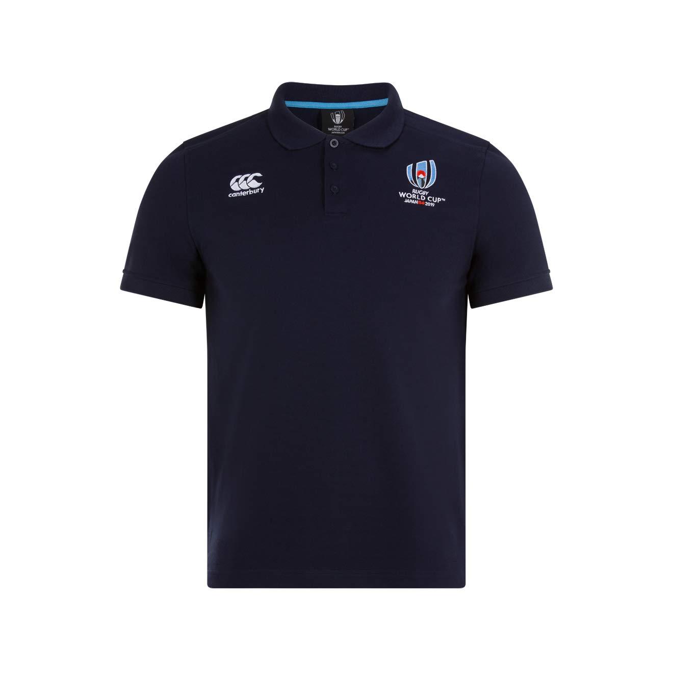 Canterbury Oficial de La Rugby World Cup 2019 - Polo de algodón ...