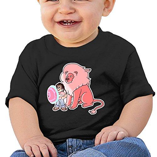 Price comparison product image Boss-Seller Steven Universe Short Sleeve T Shirts For 6-24 Months Boys & Girls Size 6 M Black