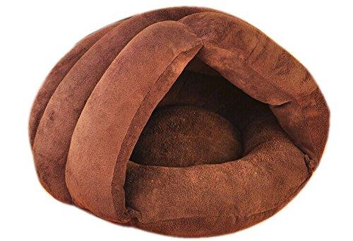 S CHONGWUCX Coral velvet dog cat dog sleeping bag