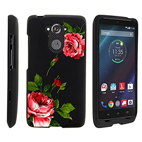 Miniturtle [Motorola Droid Turbo Case, Moto Maxx Slim Cover] -[Snap Shell] 2 Piece Rubberized Hard Cover Plastic Snap On Case - Affectionate (Snap On Cell Phone Cases)
