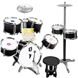 LIUFS-Drum Children's Toys Drums Beginners Toys Music Knocking Drums 3-8 Years Old Boy Gifts Getting...