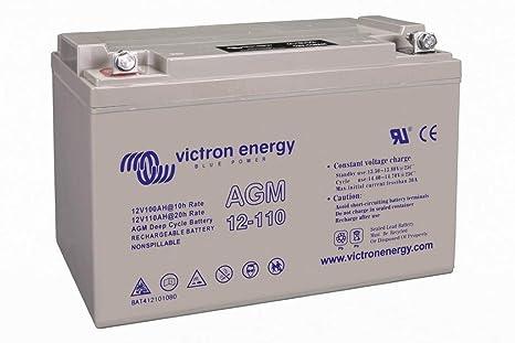 Batterie AGM 12V 110 Ah Victron: : Commerce
