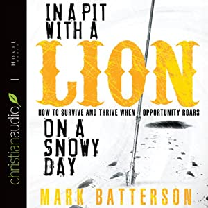 In a Pit with a Lion on a Snowy Day Audiobook