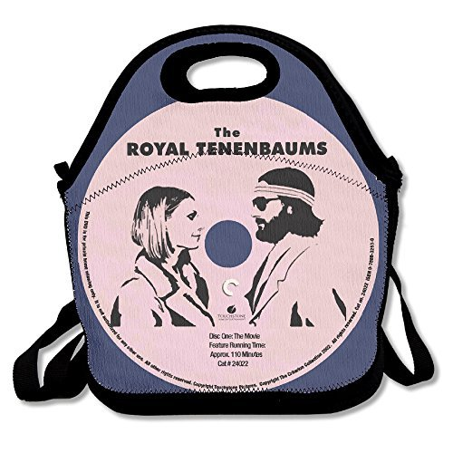 Royal Tenenbaums Margot Costume (The Royal Tenenbaums Record Lunch Tote Bag Travel School Picnic Lunch Box Bag Lunch Holder For Men, Women, Kids)