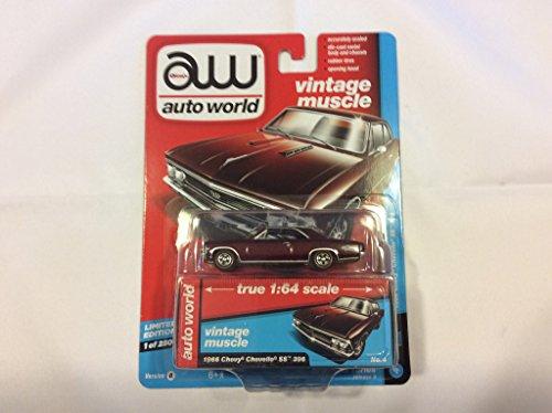 Auto World 64172 1:64 Premium Series Version B 1966 Chevy Chevelle SS 396