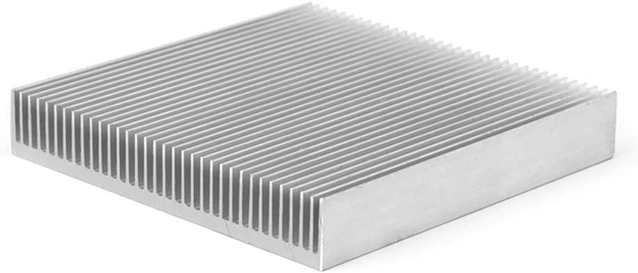 FLYCHENGi Aluminum Heat Sink Radiator Cooling Heatsink Cooler 90 X 90x 15mm for Computer PC IC LED Electronic Chipset Heat Dissipation