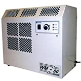 Ebac 10284gl-Us Wall Mounted Dehumidifier Wm80, 8 Amps, 360 Cfm, 62 Pints