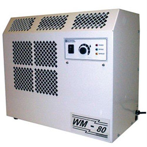 Ebac 10284gl-Us Wall Mounted Dehumidifier Wm80, 8 Amps, 360 Cfm, 62 Pints