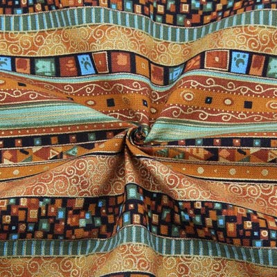 d475a3700 Amazon.com: Fabric Africa  African Style Cotton Linen Vintage Fabric DIY  Handmade Textile Sewing Patchwork for Bags Dress Clothes 14550CM M44 by  NUADOO