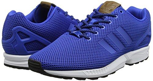 Ginnastica Scarpe Blu White blue Uomo Basse Zx Adidas Da footwear blue Flux ZUq44I