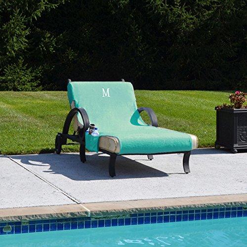 Awe Inspiring Amazon Com Authentic Turkish Cotton Monogrammed Aqua Towel Alphanode Cool Chair Designs And Ideas Alphanodeonline