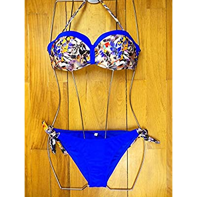 _ Bikini moderne et confortable confortable et moderne en acier bikini rassemblé une tendance maillot de split