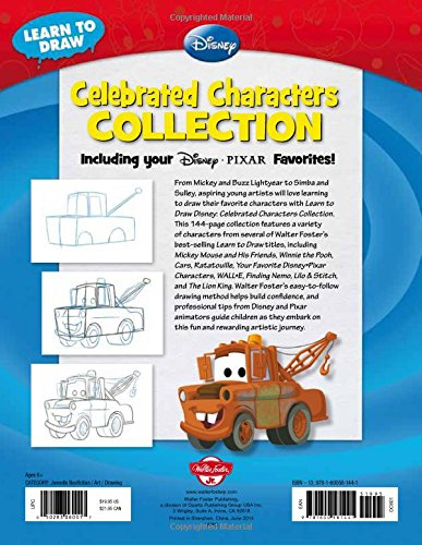 Learn to Draw Disney Celebrated Characters Collection: Including your Disney*Pixar Favorites! (Licensed Learn to Draw)