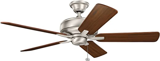 Kichler 330247NI Ceiling Fan with Light