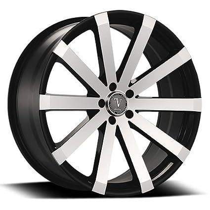 Amazon Com 26 Inch Velocity Vw12 Wheels Rims Tire Package Black
