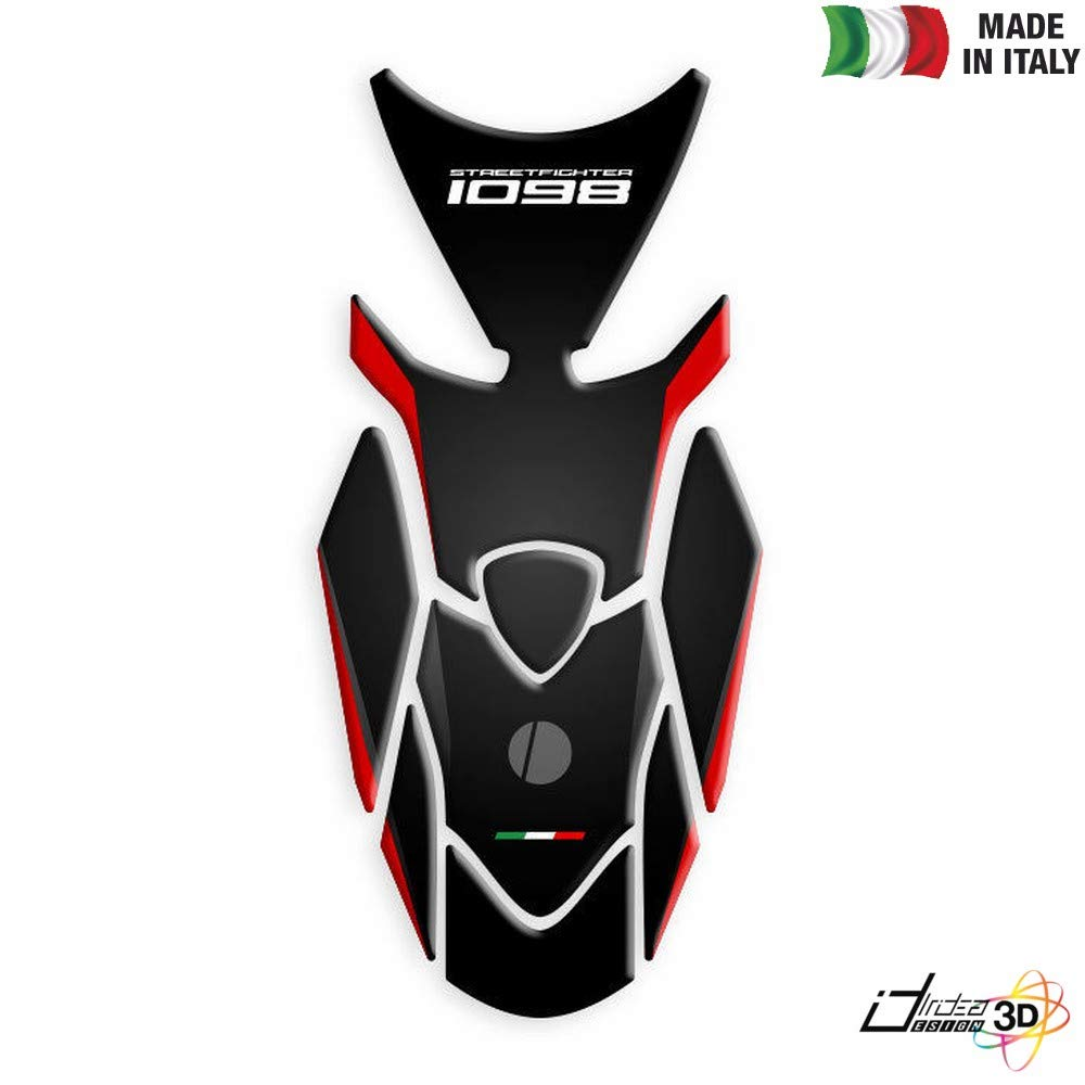 PROTEGE RESERVOIR ADHESIF RESINE ROUGE POUR DUCATI STREETFIGHTER 1098 2009-2014