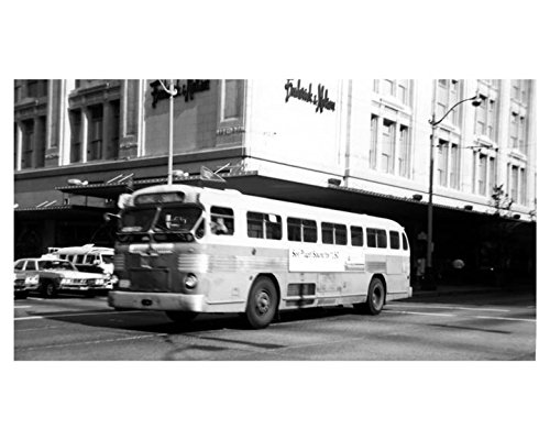 1947 Twin Coach 41-S Bus Photo Seattle Transit System Dime Shuttle Run
