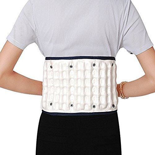 JERN Decompression Back Relief Belt Waist Lumbar Brace Spinal Inflatable Traction L Size