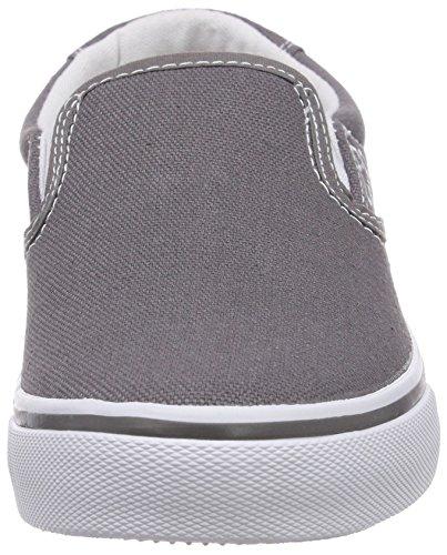 Kappa PEAK Footwear unisex - zapatilla deportiva de lona unisex gris - Grau (1310 anthra/white)