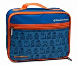 AllerMates BPA Free Lunch Bag with Durable Water Resistant Shell and Zippered Pocket, I Have Allergies Blue, Small offers