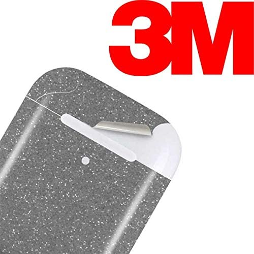 Officially Licensed Skinit Originally Designed Diamond Silver Glitter Design Skinit Decal Audio Skin for Apple AirPods with Lightning Charging Case