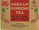 INSTANT KOREAN GINSENG TEA 100 Tea Bags - NET WT 7 oz