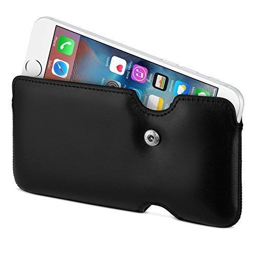 (Sena Laterale Leather Holster for iPhone 6 - Black)