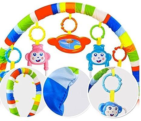 piano blanco 3 en 1 Baby Piano Play Gym PlayMat M/úsica y luces