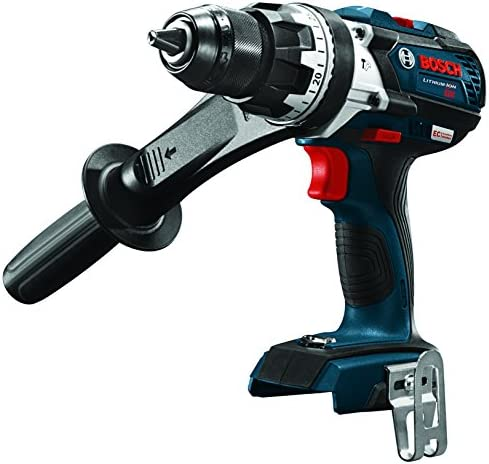 Bosch HDH183B 18V EC Brushless 1 2 In. Hammer Drill Driver Bare Tool , Blue