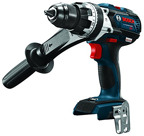 Bosch HDH183B 18V EC Brushless 1/2 In. Hammer Drill/Driver (Bare Tool), Blue ()