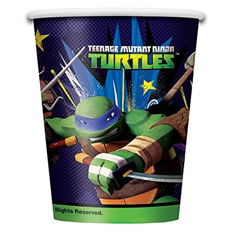 2 Pieces Teenage Mutant Ninja Turtles Party Plastic Tablecovers