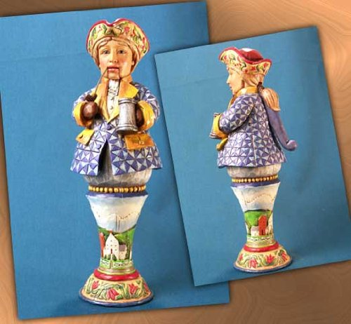 Jim Shore Give Me Liberty or Give Me Nuts Nutcracker Figurine ()