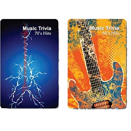 Finders Forum Playing Cards - Music : Hit Singles Trivia