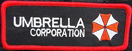 Resident Evil Embroidered Patch Iron//Sew on Umbrella Corporation Tag