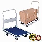 New Platform Cart 330lbs Folding Foldable Dolly Push Hand Truck Moving Warehouse