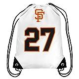 MLB San Francisco Giants Juan Marichal Marichal J. #27 Hall of Fame Drawstring Backpack