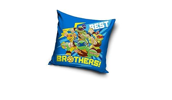 Las tortugas Ninja azul decorativo funda para cojín funda de ...